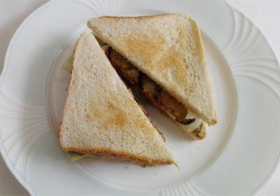 Auberginen Clubsandwich